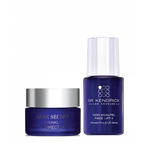 Gene Secret & Non Scalpel Facelift II Serum Set