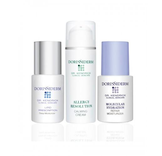 肌底重建柔潤精華素 & 全效保濕精華 & 零敏感保濕乳